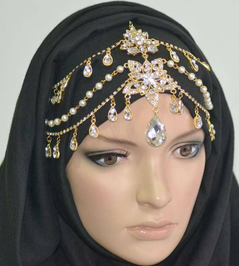 Golden Arabia Headpiece